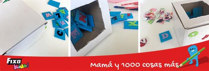 como hacer juegos infantiles con cajas de carton