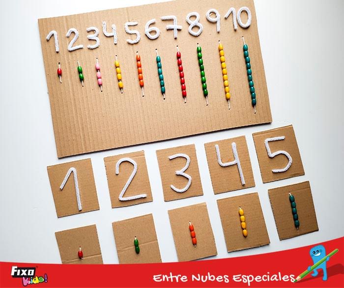 dos recursos didacticos para aprender numeros y cifras
