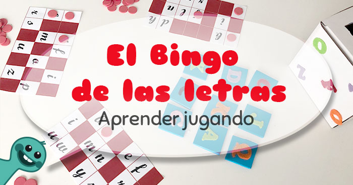 el bingo de las letras actividad de lectoescritura