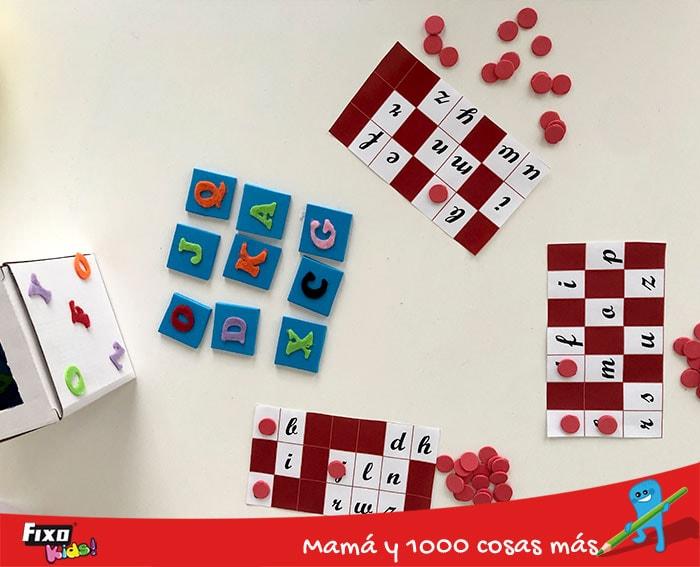 juegos infantiles para aprender las letras