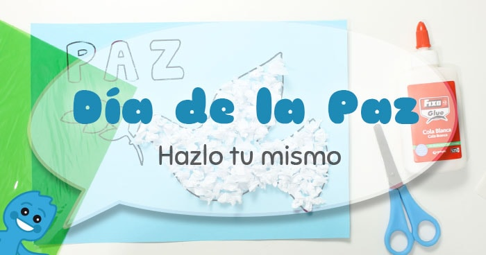 video tutorial infantil dia de la paz