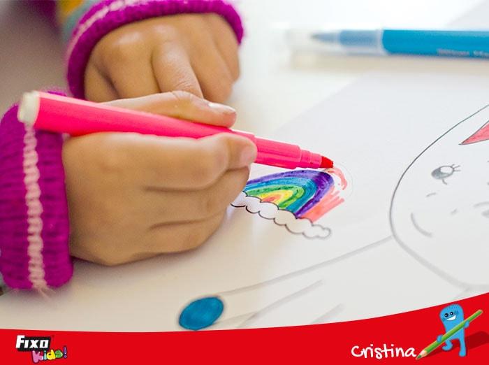 como hacer logotipos con niños
