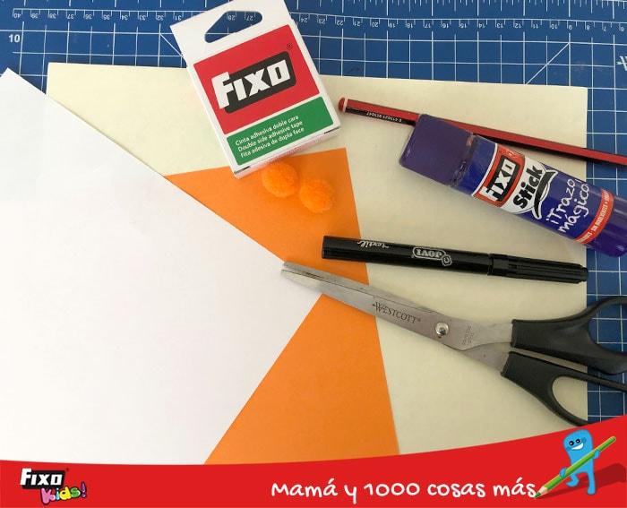 como hacer osos con papel de colores
