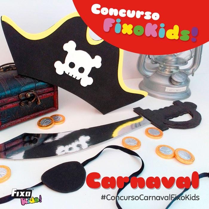 concurso infantil accesorios para disfraces de carnaval