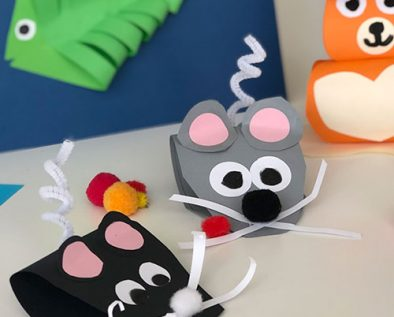 diy animales de papel