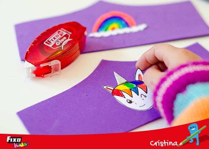 manualidades fáciles de unicornio