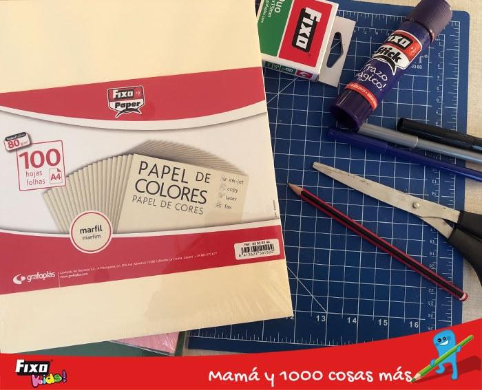 materiales para hacer manualidades con papel y pegamento