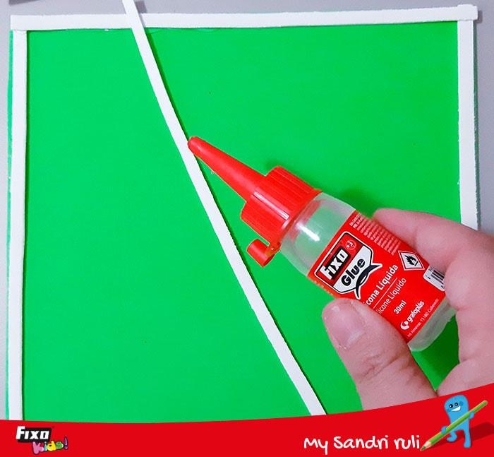 como hacer un juego para niños con goma eva de colores