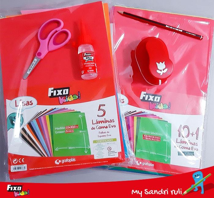 materiales de manualidades sudoku para niños