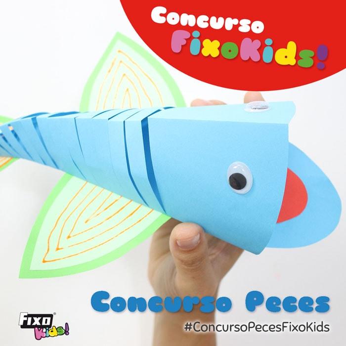 concurso manualidades peces