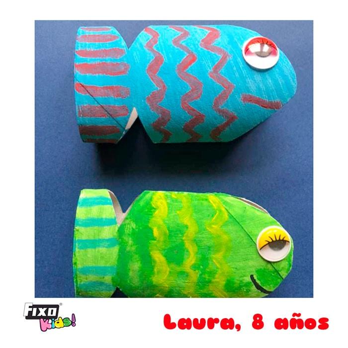reciclaje creativo con rollos de papel higienico