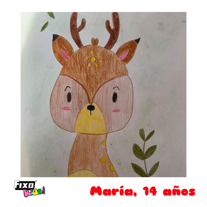 ganadora concurso dibujo