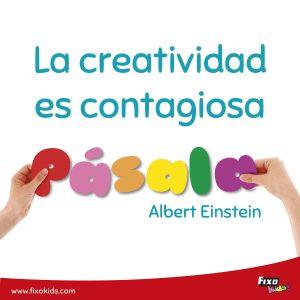 La creativida es contagiosa pasala