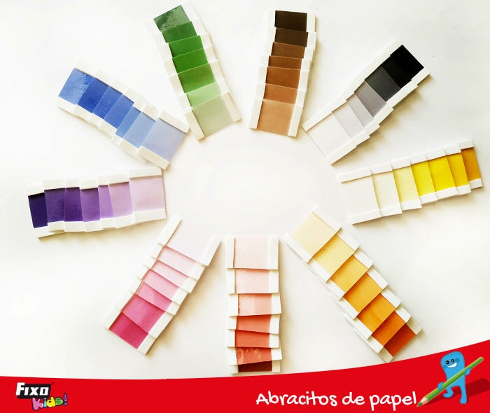 caja de colores montessori