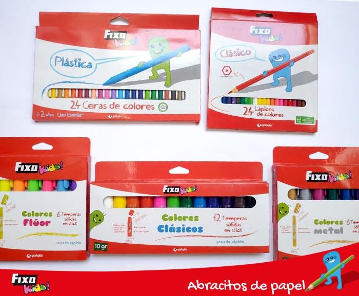 colores para niños fixo kids