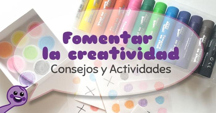 como trabajar la creatividad en niños