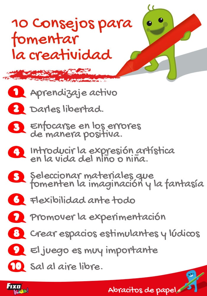 consejos para trabajar la creatividad