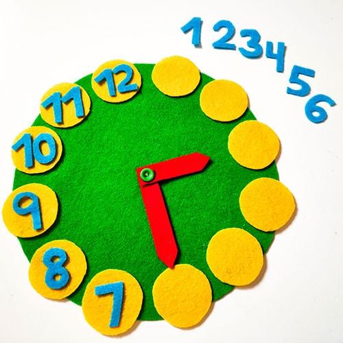 tutorial para niños para aprender las horas