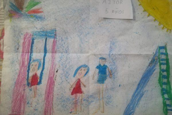 38.- Monica Palomero – Aitor 5 anos -
