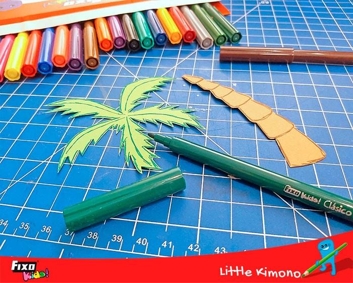 como hacer palmeras con plantillas descargables gratis