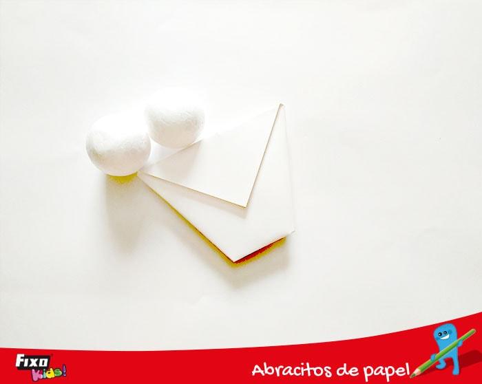 como hacer bolas de yogurt con figuras de poliespan