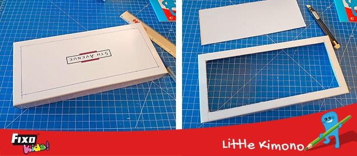 reciclaje creativo manualidades caja de luz