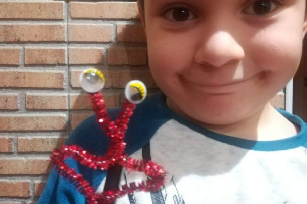 19.- Aitor, 5 años, Mónica Palomero -