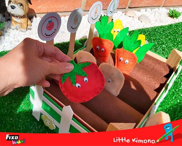 como hacer tomates para jugar