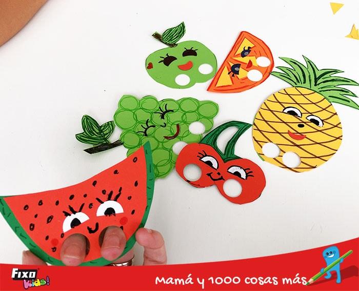 aprender jugando los sabores de las frutas