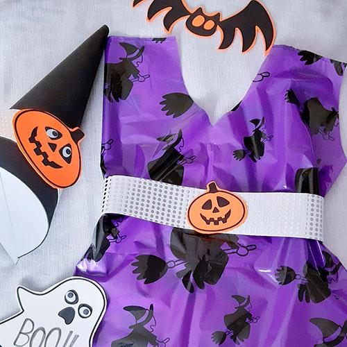 disfraz de halloween en tres pasos