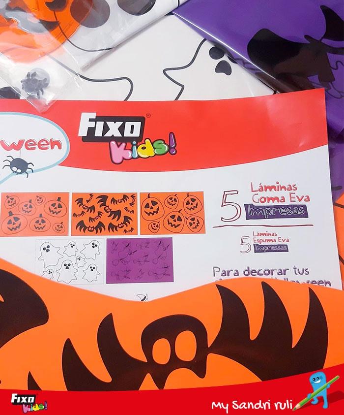 material de manualidades halloween