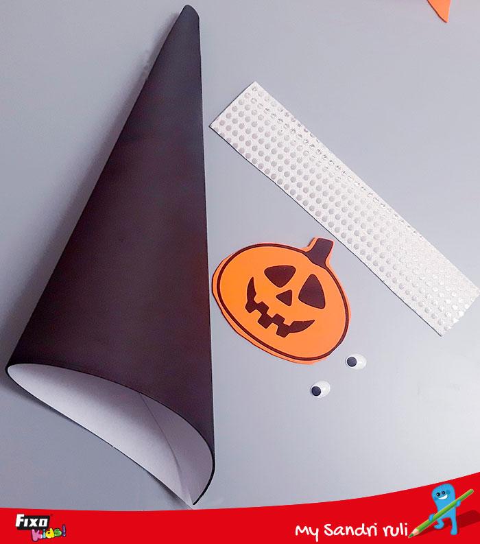 materiales de goma eva para hacer disfraces halloween