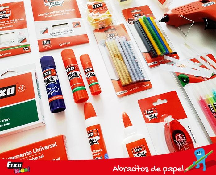 pegamentos y adhesivos para manualidades fixo kids