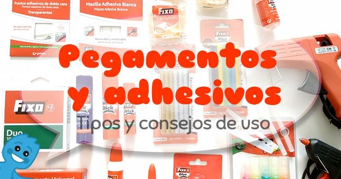 pegamentos y adhesivos tipos y usos en manualidades