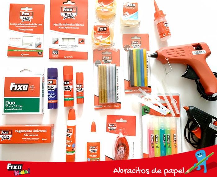 seleccion adhesivos y pegamentos fixo