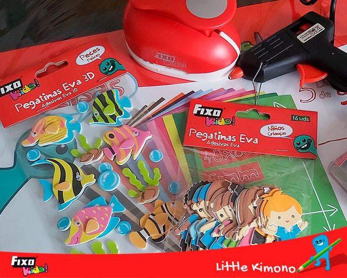 figuras adhesivas fixo kids para manualidades
