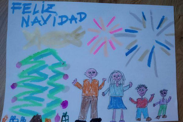 A13.- CAROL CANTERO - SAUL, 6 AÑOS -