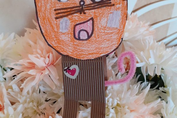 Cinthia Higuero Saiz, Nadia, 6 años