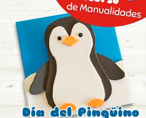concurso manualidades fixo kids dia pinguino