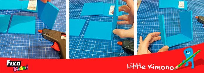 como hacer una caja con goma eva