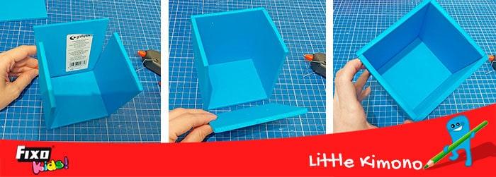 como hacer cajas con goma eva gorda