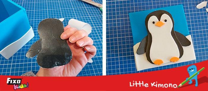 tutorial con plantillas pinguino