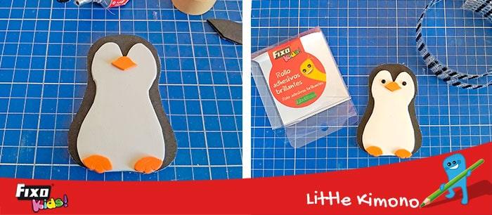 tutorial pinguinos con plantilla