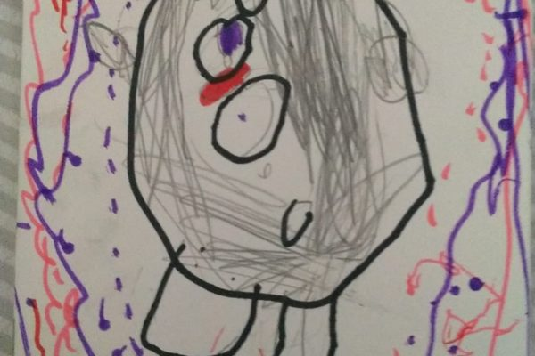 Magdalena Jadraque Carrillo – Africa Gonzalez – 5 anos – no anual -