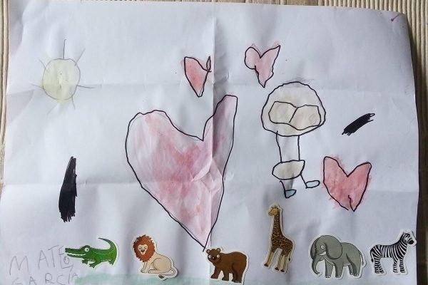 Bea Gomez – Mateo Garcia – 4 anos -