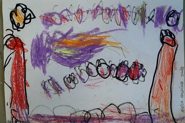 El Rincon del Arte – Africa Gonzalez – 5 anos -