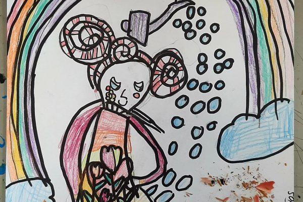 El Rincon del Arte – Cayetana – 5 anos -