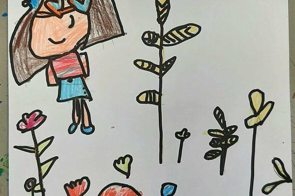 El Rincon del Arte – Clara Rosales – 6 anos -