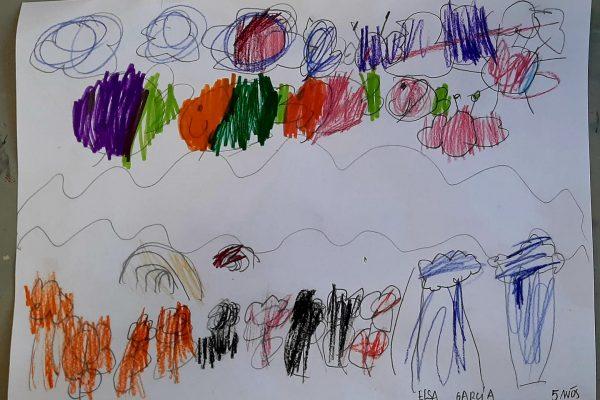 El Rincon del Arte – Elsa Garcia, 5 anos -