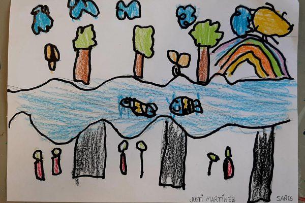 El Rincón del Arte – Justi Marinez, 5 anos
